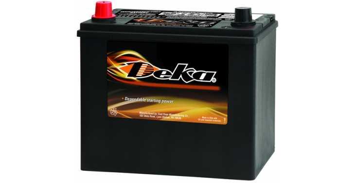 Купить Аккумулятор DEKA 60 Ah 651RMF ССА500 в Хабаровске