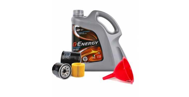 Моторное масло G-Energy 5W40 + Бесплатная замена