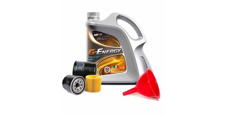 Моторное масло G-Energy 0W20 + Бесплатная замена