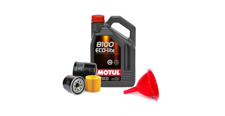 Масло моторное MOTUL 8100 Eco-lite 5W30 SN/CF + Бесплатная замена