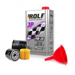 Масло моторное ROLF JP 0W20 API SN + Бесплатная замена