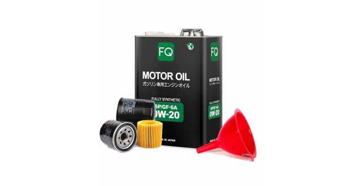 Моторное масло FQ 0W20